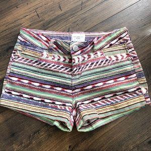 Celebrity Pink 3/26 Southwestern Cuffed Shorts